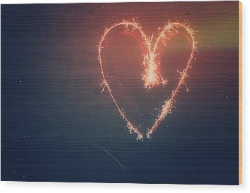 Heart Wood Print by Daniel Precht
