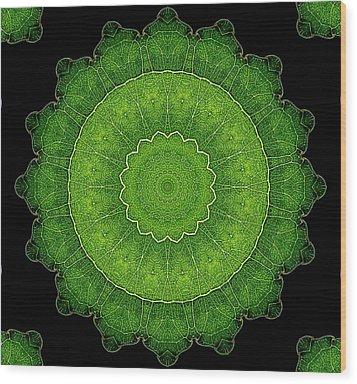 Heart Of Poplar Wood Print by Aliceann Carlton