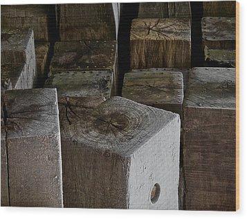 Heart Of The City Wood Print by Odd Jeppesen