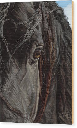 Heartfelt Wood Print