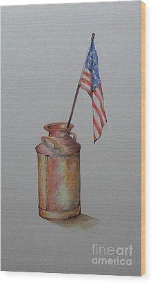 Heartland America Wood Print
