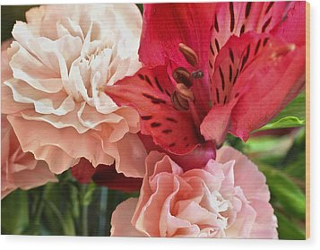 Wood Print featuring the photograph Heart's A Flutter by Julie Andel