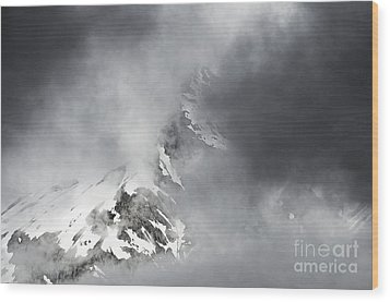 Wood Print featuring the photograph Heaven For A Moment by Nick  Boren
