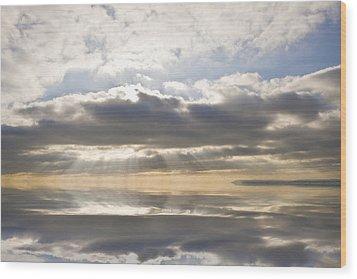 Heaven Wood Print by Matthew Gibson