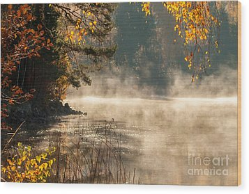 Wood Print featuring the photograph Heavenly Atmosphere by Rose-Maries Pictures