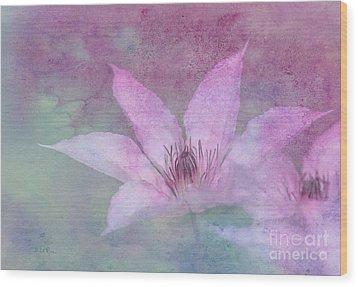 Heavenly Petals Wood Print by Betty LaRue
