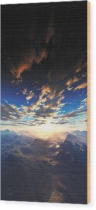 Heaven's Breath 31 Wood Print by The Art of Marsha Charlebois