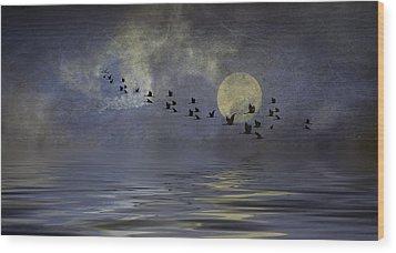 Heavens Gate Wood Print by Diane Schuster