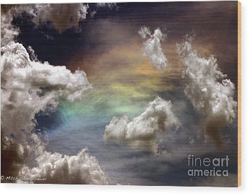 Wood Print featuring the photograph Heaven's Gate by Mitch Shindelbower