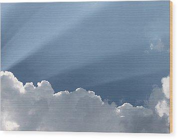 Heavens Premiere Wood Print