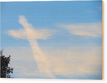 Heaven's Sign Wood Print