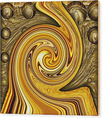 Heavy Metal 2 Wood Print by Wendy J St Christopher