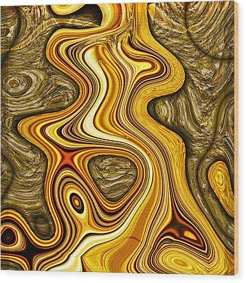 Heavy Metal 3 Wood Print by Wendy J St Christopher
