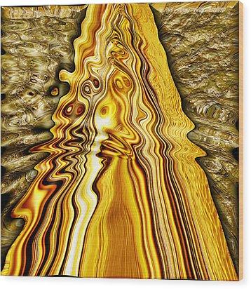 Heavy Metal 4 Wood Print by Wendy J St Christopher