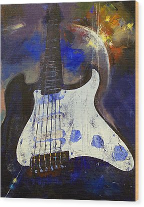 Heavy Metal Wood Print by Michael Creese
