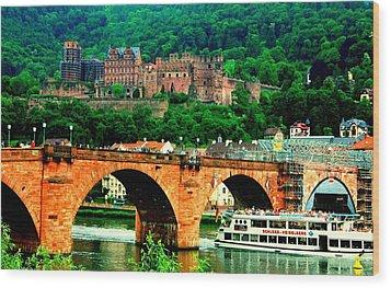 Heidelberg Castle Wood Print