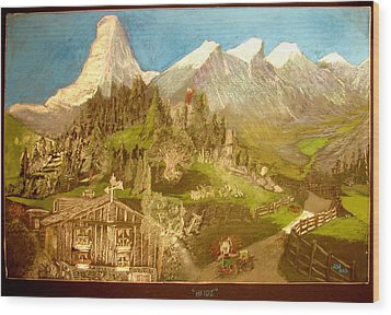 Heidi 1937 Wood Print by Joseph Hawkins