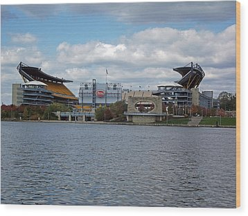 Heinz Field  Wood Print by Joyce  Wasser