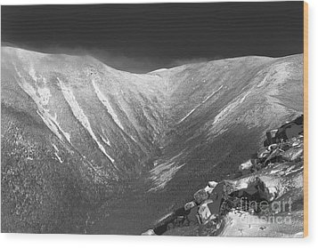 Hellgate Ravine - White Mountains New Hampshire Wood Print