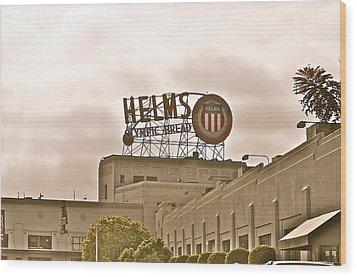 Helms Wood Print