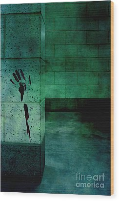 Help Wood Print by Margie Hurwich