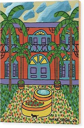 Hemingway House - Key West Wood Print