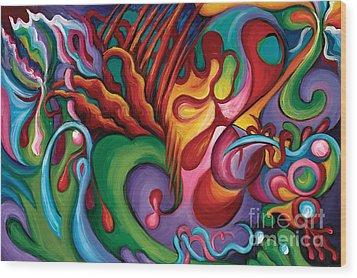Hendrix Voodoo Magick Wood Print