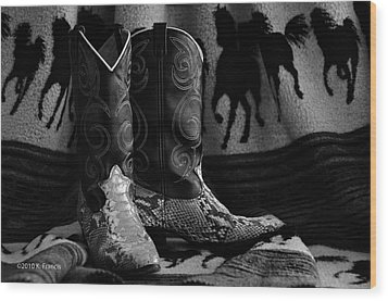 Wood Print featuring the photograph Her Favorite Pair by Kenny Francis
