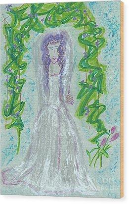 Hera Juno Wood Print by First Star Art