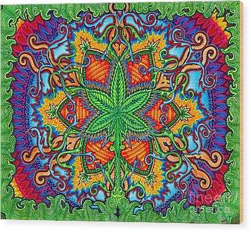 Herbal Cure Wood Print
