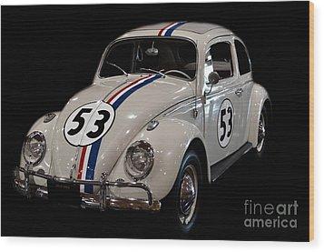 Herbie Wood Print
