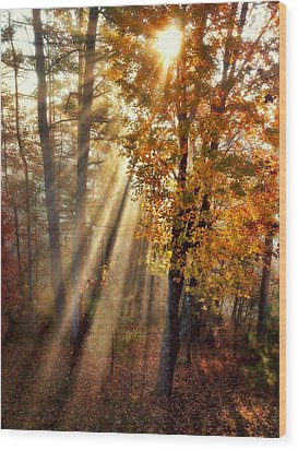Here Comes The Sun Wood Print by Paul Cutright