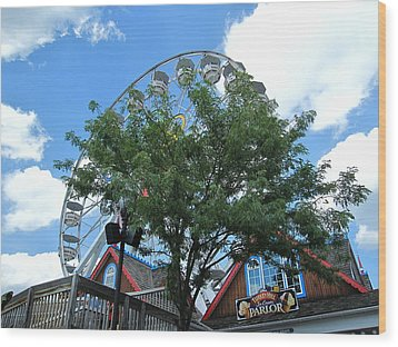 Hershey Park - 121243 Wood Print by DC Photographer