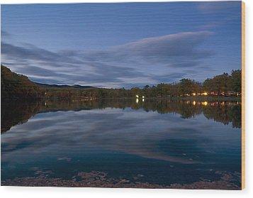 Hessian Lake Wood Print
