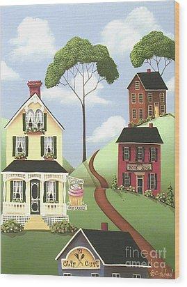 Hickory Grove Wood Print by Catherine Holman