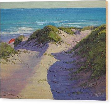 Hidden Dunes Wood Print by Graham Gercken