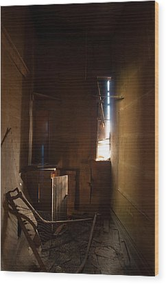 Wood Print featuring the photograph Hidden In Shadow by Fran Riley