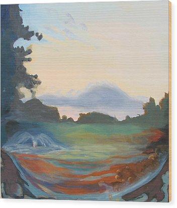 Hidden Landscape Wood Print