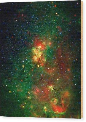 Hidden Nebula 2 Wood Print by Jennifer Rondinelli Reilly - Fine Art Photography