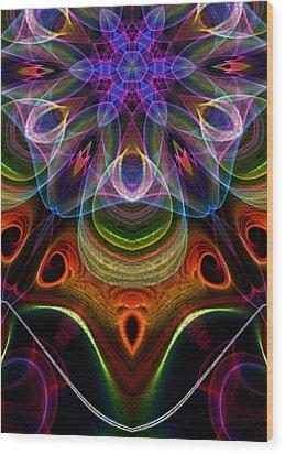 Hidden Wood Print by Owlspook