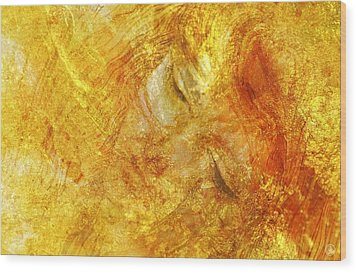 Hiding In Yellow Wood Print by Gun Legler
