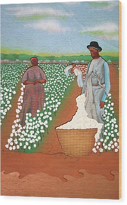 High Cotton Wood Print by Fred Gardner