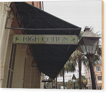 High Cotton Wood Print by M West