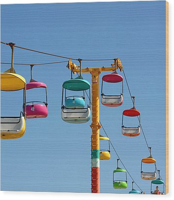 High Flying Wood Print by Art Block Collections