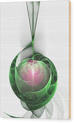 High Note Wood Print by Anastasiya Malakhova