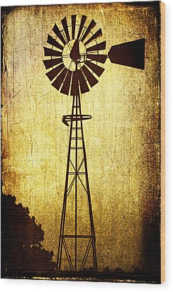 High Prairie Sentinel Wood Print