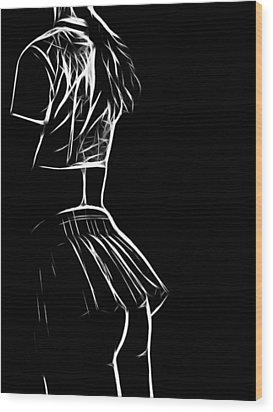 High School Innocence Wood Print by Steve K