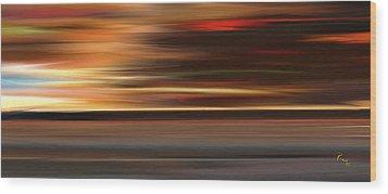 High Speed 3 Wood Print by Rabi Khan