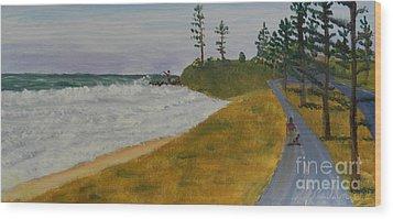 High Tide  Wood Print by Pamela  Meredith