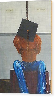 Higher Education Wood Print by Douglas Keen
